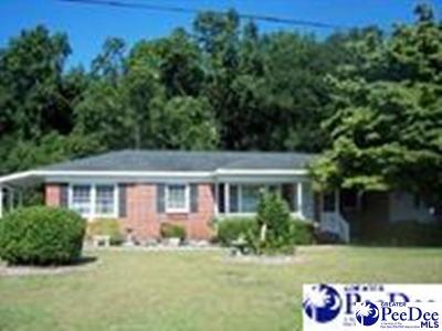 Dillon SC Single Family Home For Sale: $98,500