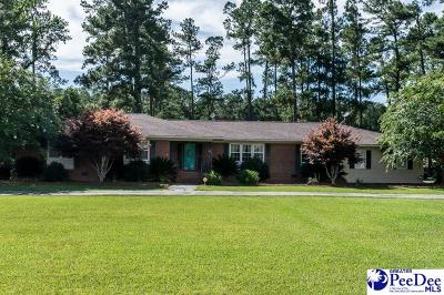 Pamplico Single Family Home For Sale: 3633 Bay Rd