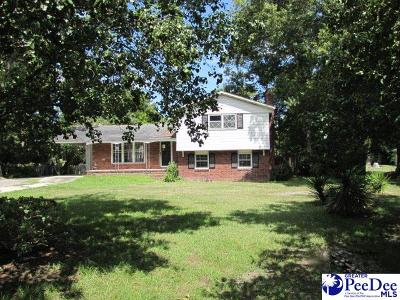 Florence SC Single Family Home For Sale: $84,900