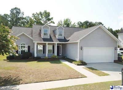 Florence SC Single Family Home For Sale: $207,900