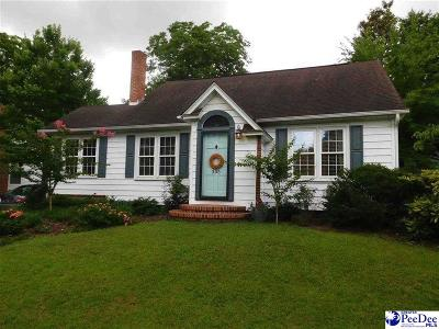 Hartsville Single Family Home Uc/Show For Back Up: 305 Chester Ave
