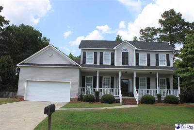 Florence SC Single Family Home New: $205,000