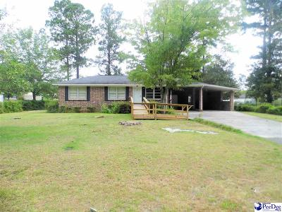 Dillon SC Single Family Home Uc/Show For Back Up: $62,500