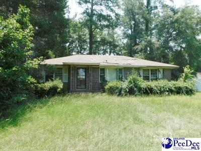 Florence SC Single Family Home New: $37,900