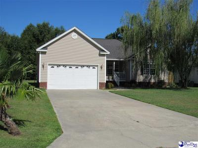 Florence SC Single Family Home For Sale: $143,000