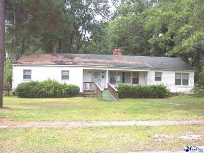Dillon County Single Family Home For Sale: 411 E Leitner Street