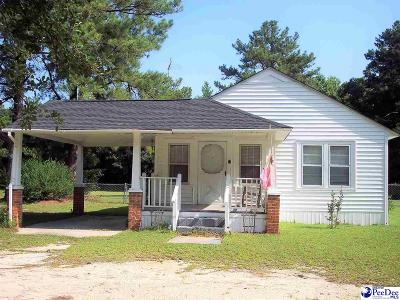 Dillon SC Single Family Home For Sale: $65,000