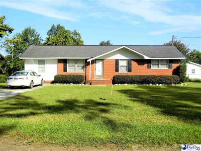 Dillon SC Single Family Home For Sale: $134,900
