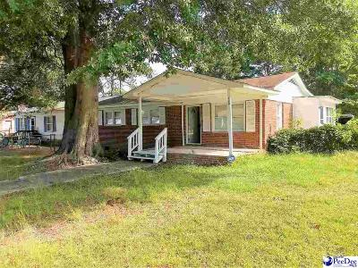 Dillon SC Single Family Home For Sale: $28,000