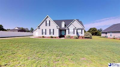 Hartsville Single Family Home Uc/Show For Back Up: 1421 Nottingham Drive
