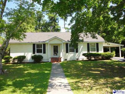 Florence  Single Family Home For Sale: 1419 Woods Rd