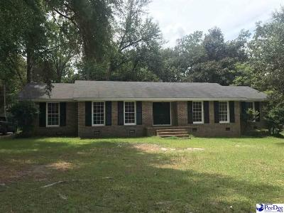 Kingstree Single Family Home For Sale: 29 Montgomery Street
