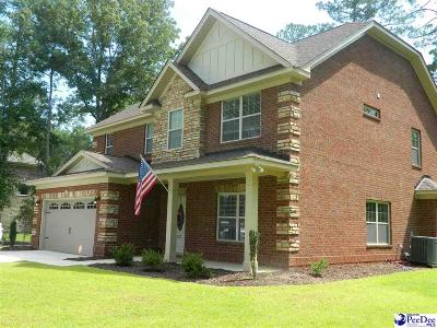 Hartsville Single Family Home For Sale: 327 Deerwood Drive