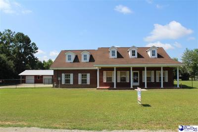 Marion SC Single Family Home For Sale: $159,000
