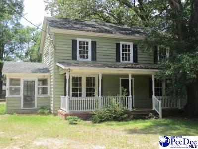 Kingstree Single Family Home For Sale: 1218 3rd Ave.
