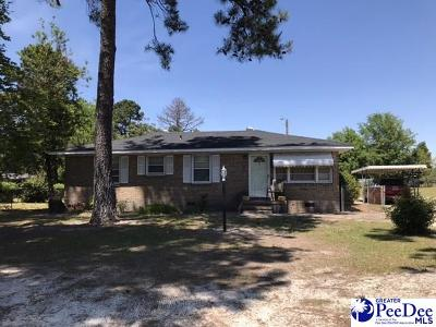 Marion SC Single Family Home For Sale: $55,000