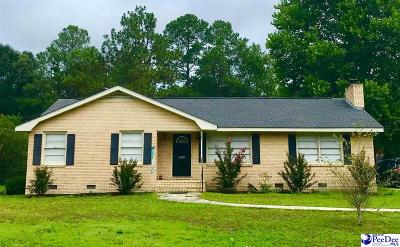 Hartsville Single Family Home Uc/Show For Back Up: 1410 Georgian Dr