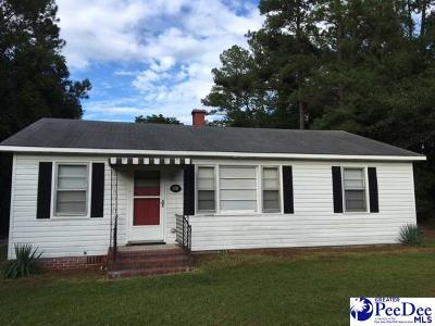 Hartsville Single Family Home For Sale: 1320 Griggs Circle