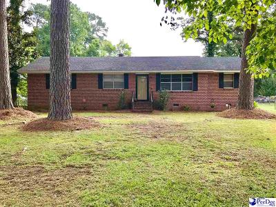 Florence County Single Family Home Uc/Show For Back Up: 2626 Glenwood Road