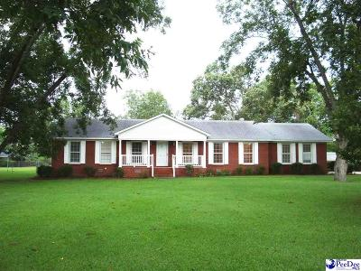 Florence County Single Family Home Uc/Show For Back Up: 2623 Glenwood Road