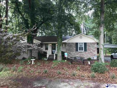 Hartsville Single Family Home Uc/Show For Back Up: 803 14th Street