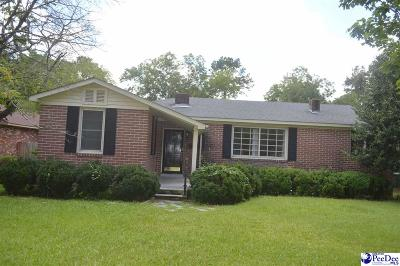 Hartsville Single Family Home Under Contingency Cont: 913 Hannah Avenue