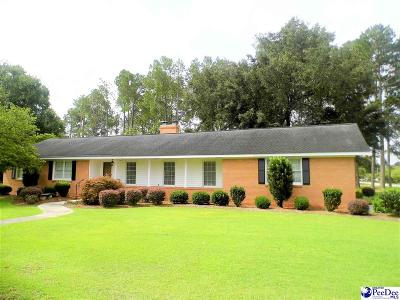 Dillon County Single Family Home Uc/Show For Back Up: 1400 E Washington Street