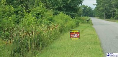 Timmonsville Residential Lots & Land For Sale: Timmons Rd.