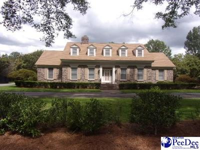 Hartsville Single Family Home For Sale: 109 Yaupon Dr