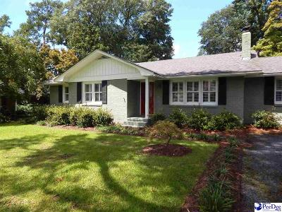 Florence Single Family Home Uc/Show For Back Up: 1001 Beverly Dr
