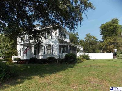 Bennettsville SC Single Family Home For Sale: $145,000