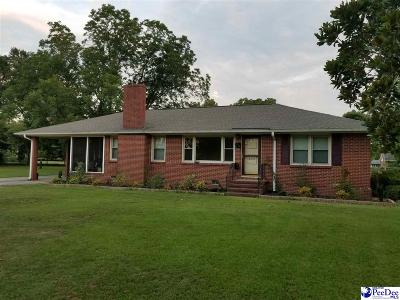 Bennettsville SC Single Family Home Uc/Show For Back Up: $85,000
