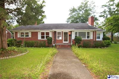 Marion SC Single Family Home Uc/Show For Back Up: $72,900