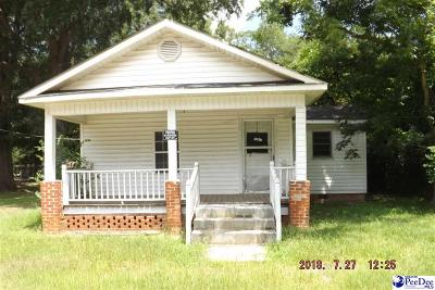 Mullins Single Family Home For Sale: 210 Bay St