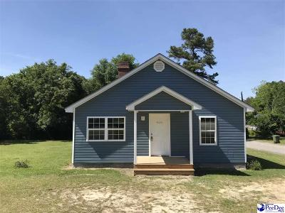 Hartsville Single Family Home For Sale: 828 E Home Ave
