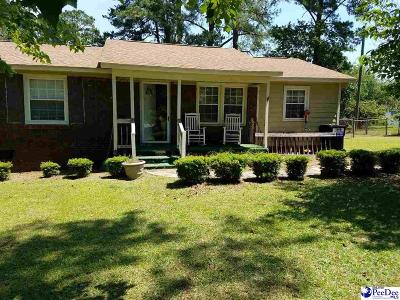 Florence SC Single Family Home For Sale: $74,900