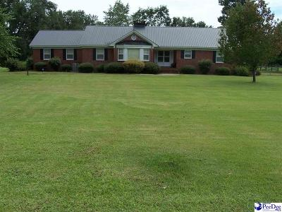 Lake City Single Family Home Uc/Show For Back Up: 1 Turbeville Highway