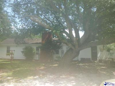 Florence County Single Family Home Uc/Show For Back Up: 325 Magnolia St.