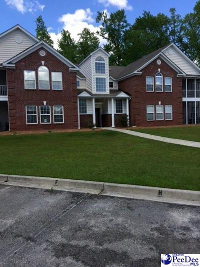 Florence SC Condo/Townhouse For Sale: $118,000