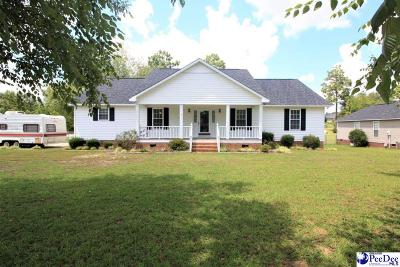 Hartsville Single Family Home For Sale: 1012 Huntington Drive