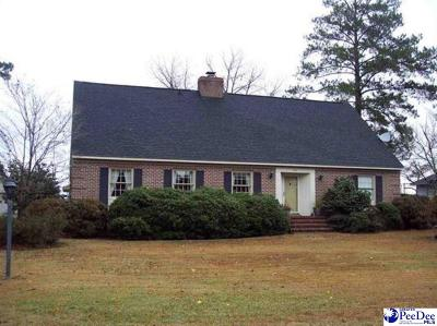 Dillon SC Single Family Home For Sale: $165,000