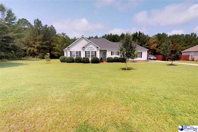 Hartsville Single Family Home For Sale: 2722 Flushing Covey