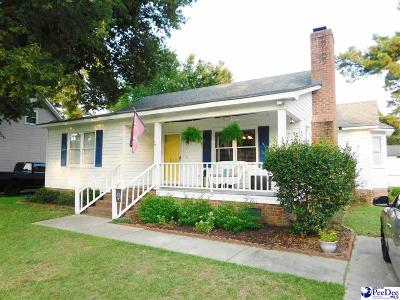 Florence SC Single Family Home For Sale: $129,900