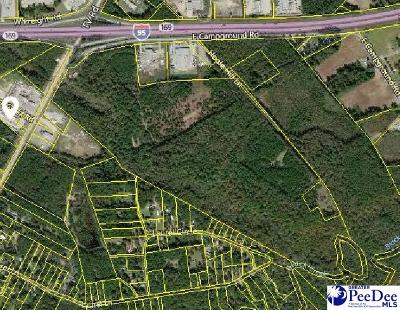 Florence, Flrorence, Marion, Pamplico Commercial Lots & Land For Sale: Tract 1 I-95 & Campground Road