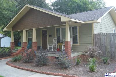 Hartsville SC Single Family Home New: $265,000