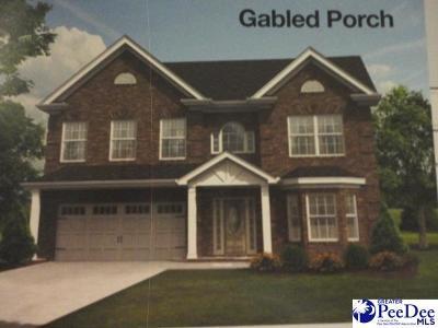 Florence SC Single Family Home New: $272,990