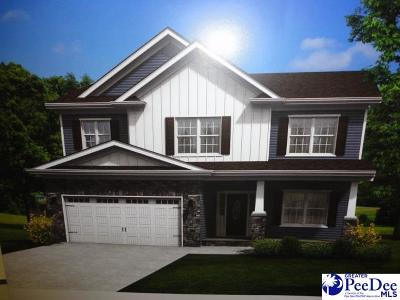 Florence SC Single Family Home New: $260,990