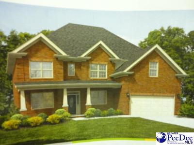 Florence SC Single Family Home New: $277,990