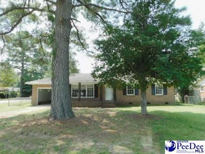 Florence SC Single Family Home New: $27,000