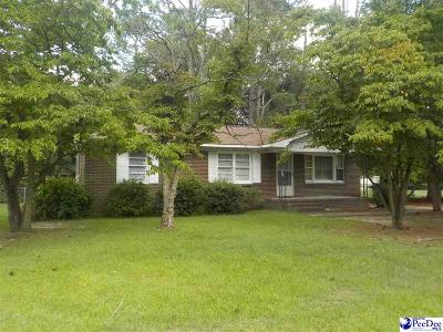 Bennettsville Single Family Home Uc/Show For Back Up: 517 Sherwood Drive